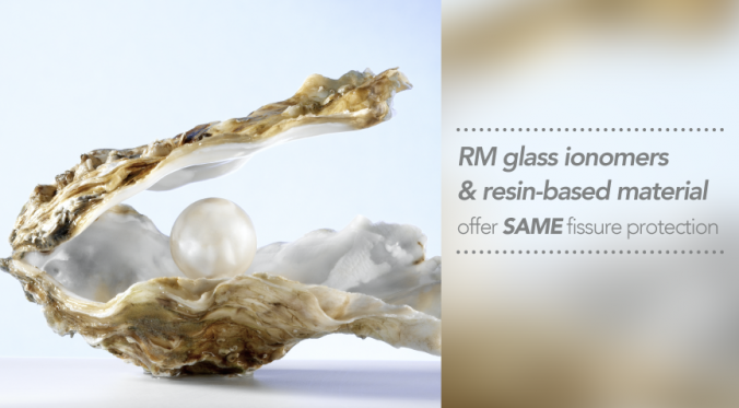 RM glass ionomers & resin-based material offer SAME fissure protection-01